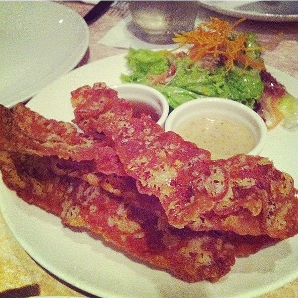 Bacon Chicharon @ 2nd's Comfort Food Revisited
