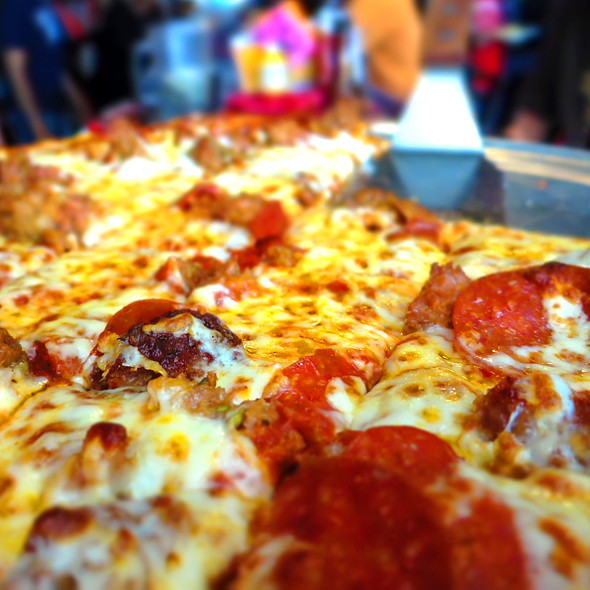 Pepperoni & Sausage Pizza @ McGee's Tavern and Grill