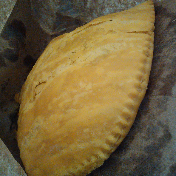 jamaican patty, beef @ Randy's Take-Out