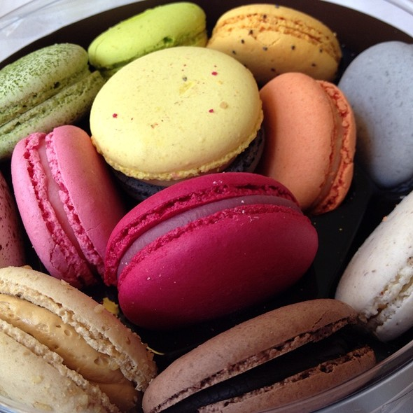 French Macarons: Assorted Flavors @ Paul Lafayet