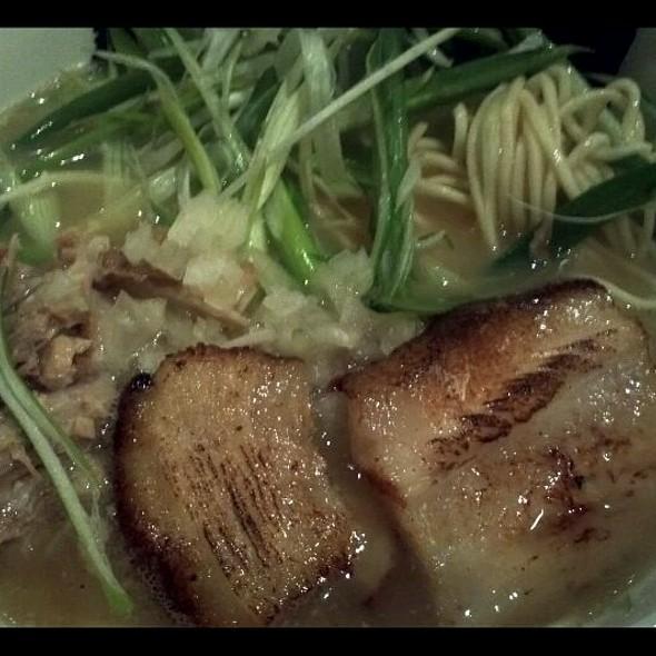 Totto Chicken Paitan Ramen With Pork @ Totto Ramen