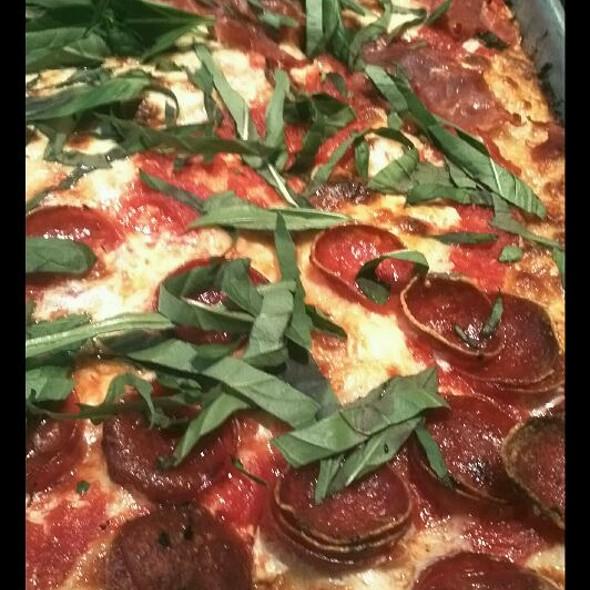 Pepperoni And Prosciutto Pizza @ Adrienne's Pizza Bar
