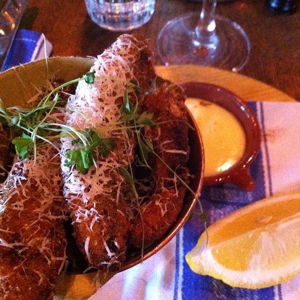 Mushroom Fritti @ Jamie's Italian