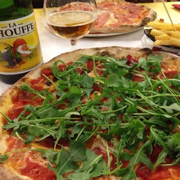 Pizza Primavera @ pizzeria asso di quadri