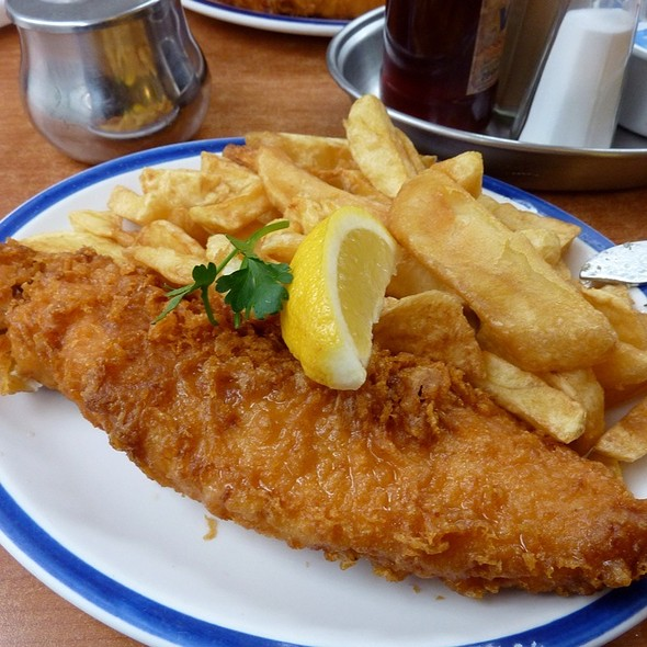 Cod and Chips @ The Rock & Sole Plaice