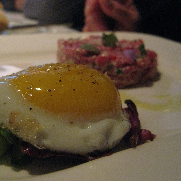 Beef Tartare @ Custom House Tavern