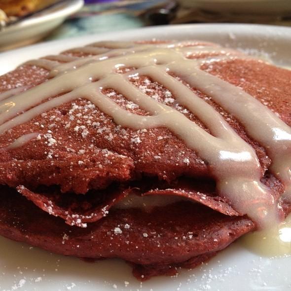 Red Velvet Pancakes @ Cinnamon's