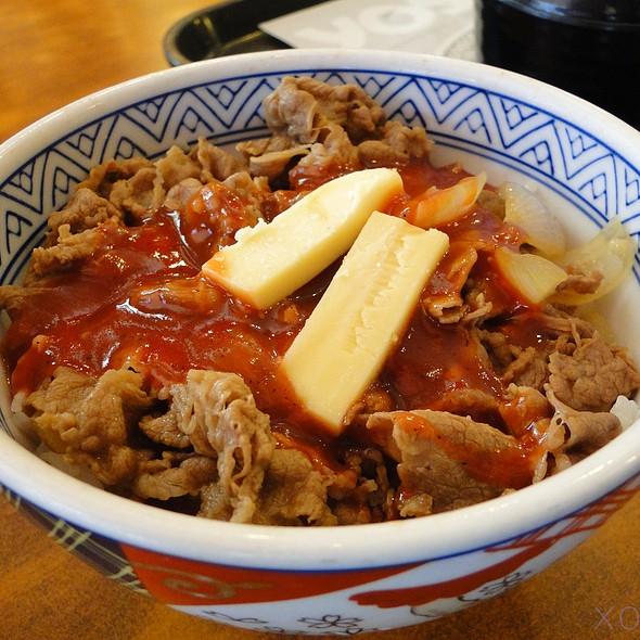 Italian Beef Bowl @ Yoshinoya