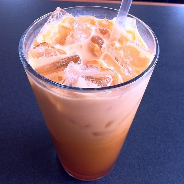 Thai Iced Tea @ Rice & Spice Thai Cuisine
