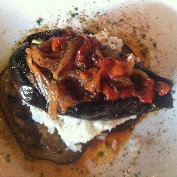 Tonchi Nasu ( Stuffed Eggplant) @ Tarla Mediterranean Grill