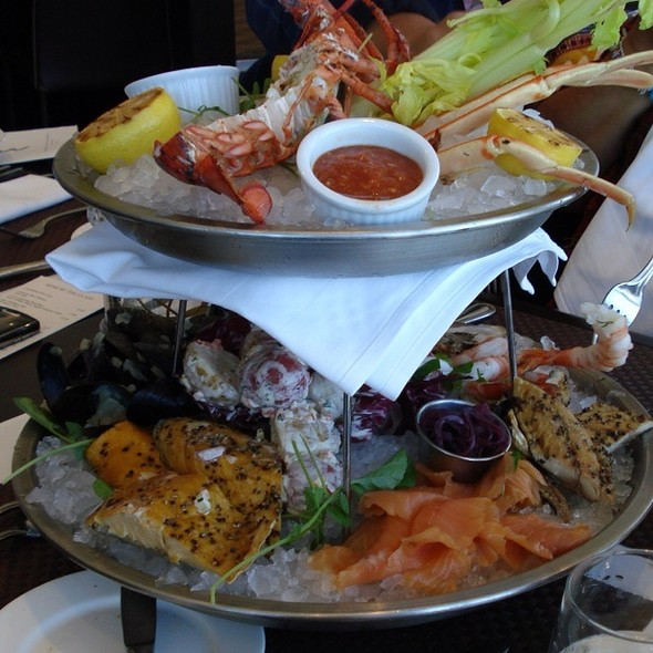 mixed seafood platter - 360 The Restaurant at the CN Tower, Toronto, ON