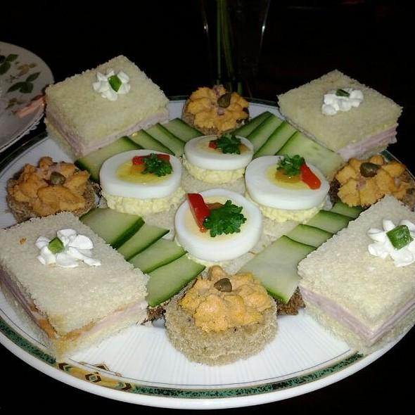 Tea Sandwiches - Le Salon at the Windsor Court Hotel, New Orleans, LA