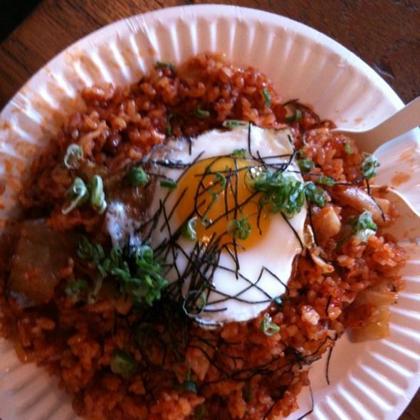 Kimchi Fried Rice @ Namu (Ferry Building Farmer's Market)