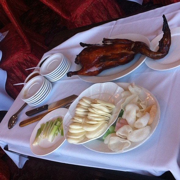 Peking Duck @ Ocean Seafood