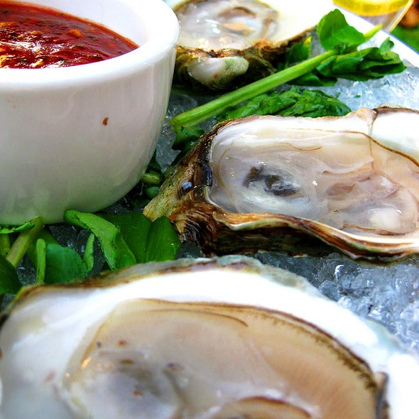 Oysters @ The Ivy