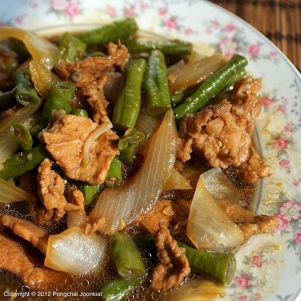 หมูผัดพริกสด | Stir Fried Pork with Fresh Chili Pepper