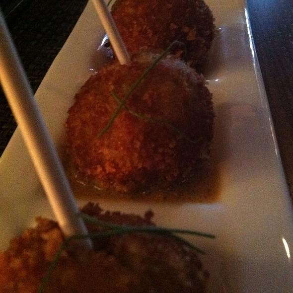 Malai  Kofta Lollipops @ Tashan