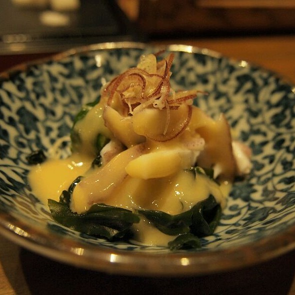 Squid Salad With Seaweed @ 游壽司