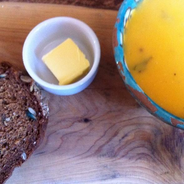Sweet Potato & Coriander Soup @ Ard Bia At Nimmos