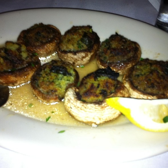 Stuffed Mushrooms @ Maggiano's Little Italy