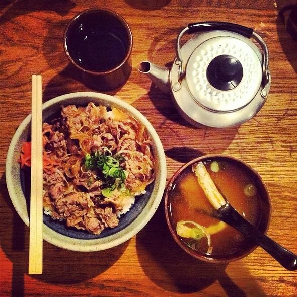Gyudon Rice Bowl @ Koya