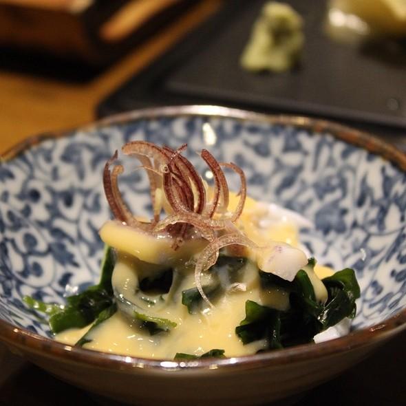 Squid Salad With Seaweed @ 游壽司