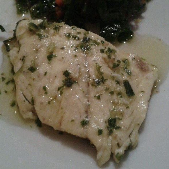 Sea Bass with Basil
