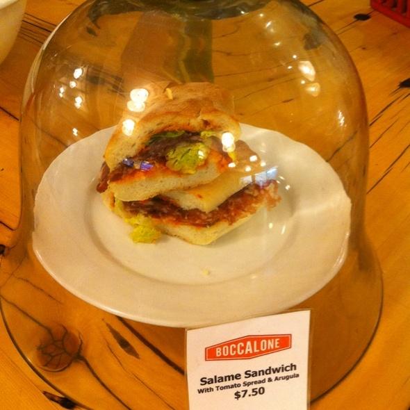 Salame Sandwich @ Boccalone