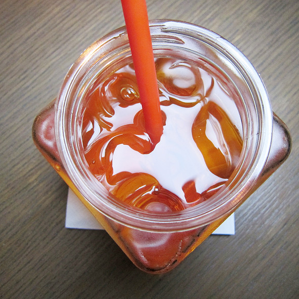 Lychee Iced Tea @ The PlayGround