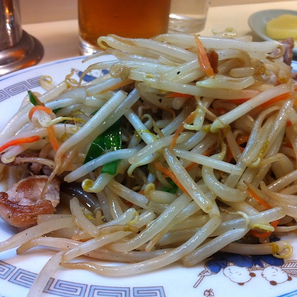 肉もやし炒め定食 @ 華竜