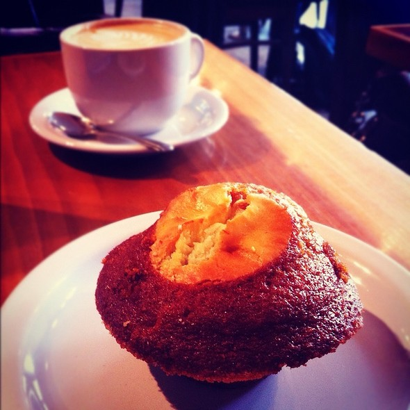 Pumpkin Muffin @ Temple Coffee Roasterie