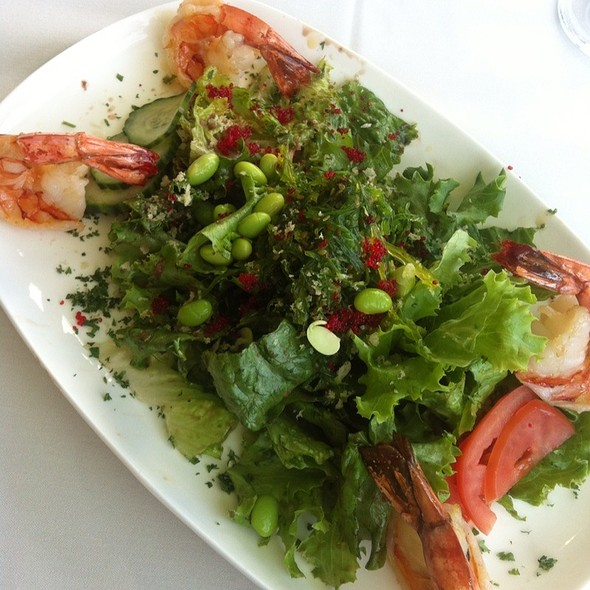 Shrimp And Seaweed Salad @ Restaurant Influences