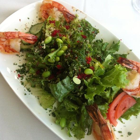 Shrimp And Seaweed Salad @ Restaurant Influences