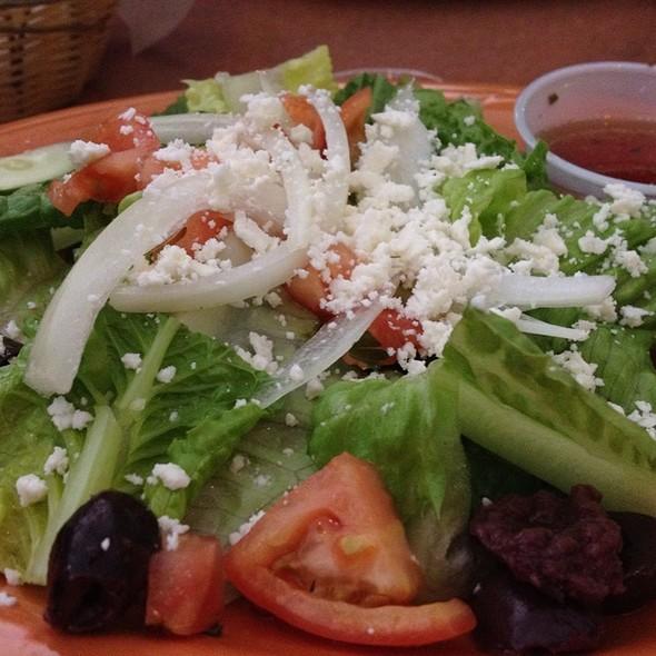 Greek Salad @ Metropolis Curry & Kabob