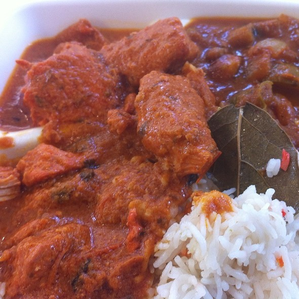 chicken tikka masala @ cafe spice express