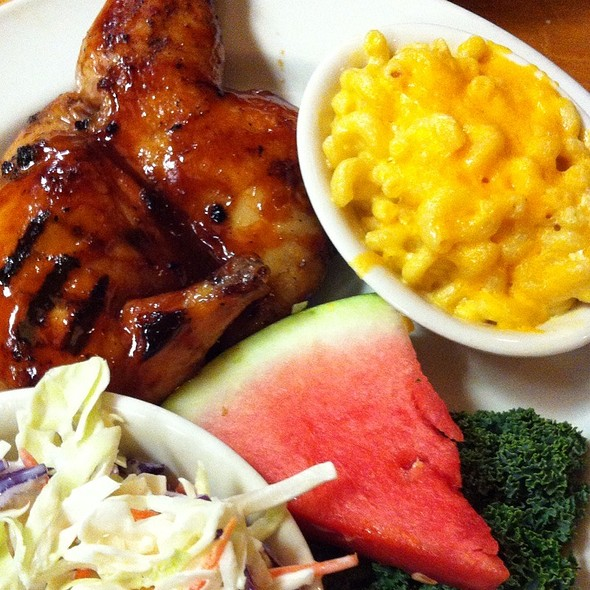 BBQ Chicken @ Lucille's Smokehouse BBQ
