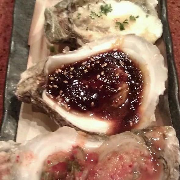 Grilled Texas Oyster  @ Kata Robata Sushi & Grill