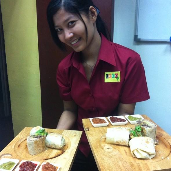 Burritos @ Loco Bar & Restaurant