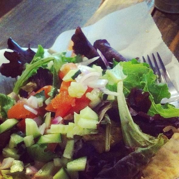 Falafel On Naan @ Urban Cannibals Bodega & Bites