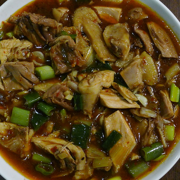 Braised Chicken Dices with Bone in Ginger Flavour @ Xu & Liu Chinese Restaurant