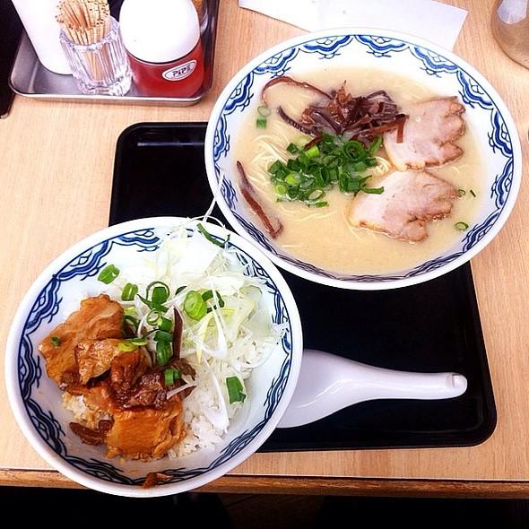 トロ煮叉焼ごはんセット @ 由丸 品川港南店