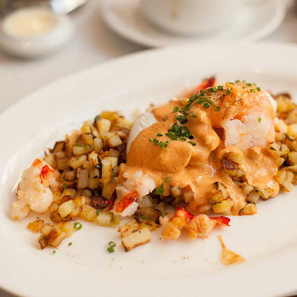 Lobster Hash @ Bottega Louie Restaurant and Gourmet Market