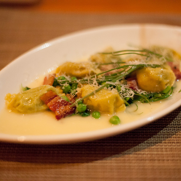 English Peas and Bacon @ Craft Los Angeles