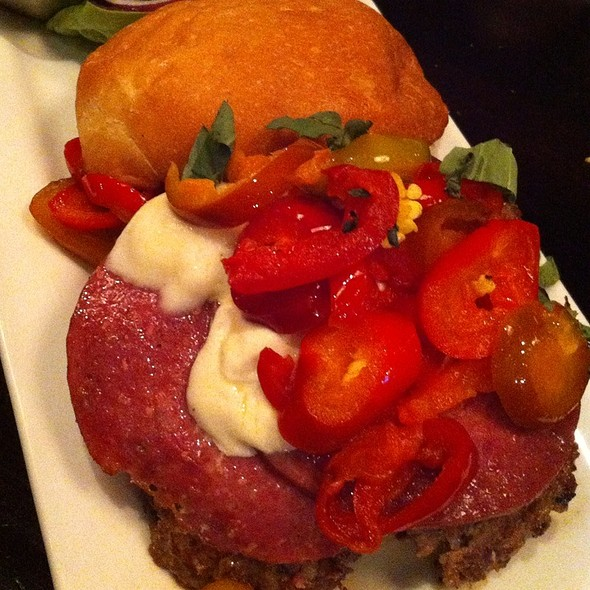 Salami Burger @ The Marble Room