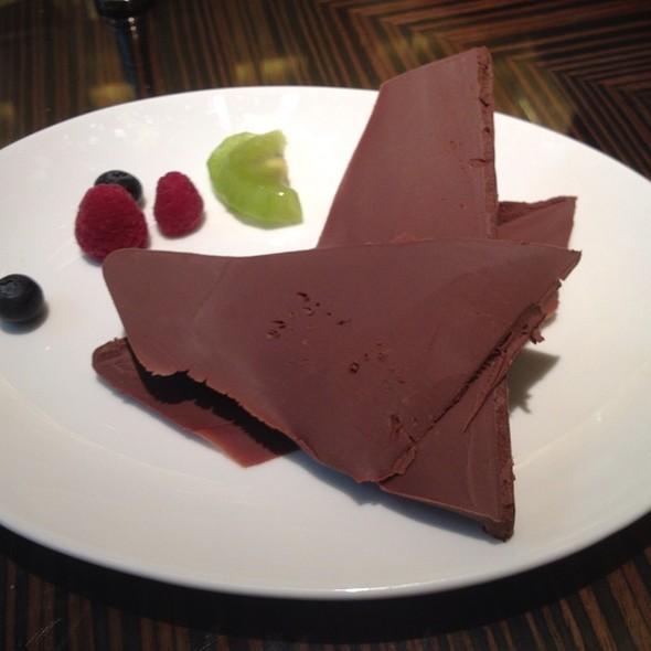 "Gianduiotto ""Gobino"" Chocolate Carving @ Jojo @ The St. Regis Hotel"