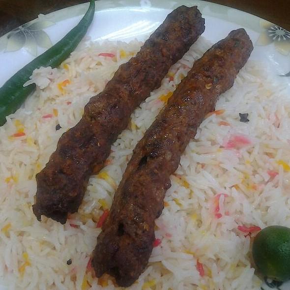 Beef Kebab With Basmathi Beryani