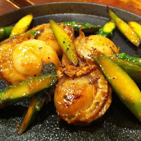 Scallop And Asparagus @ Ippei-An Ramen & Bar