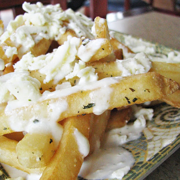 Feta fries @ Greek City Cafe