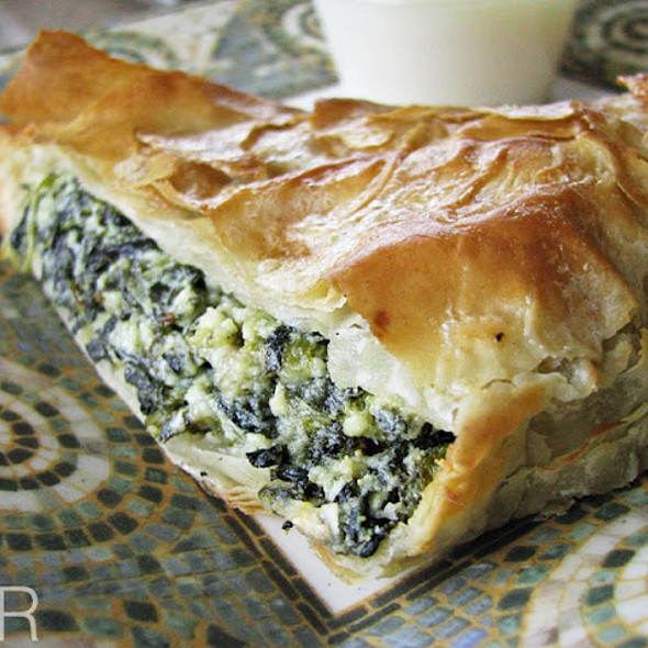 Spanakopita @ Greek City Cafe