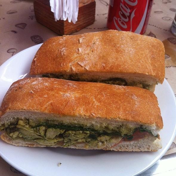 Ciabatta Al Pesto @ Panaderia Lo Saldes